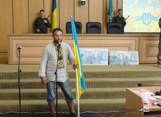 Мэр Славянска прогулял День независимости Украины