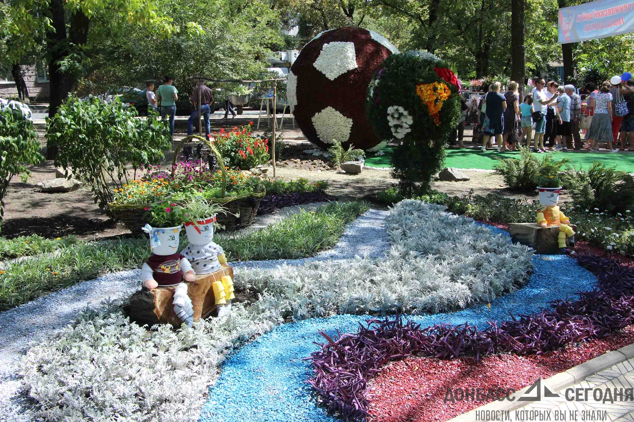 Без года полтора века:  Донецк масштабно празднует День города