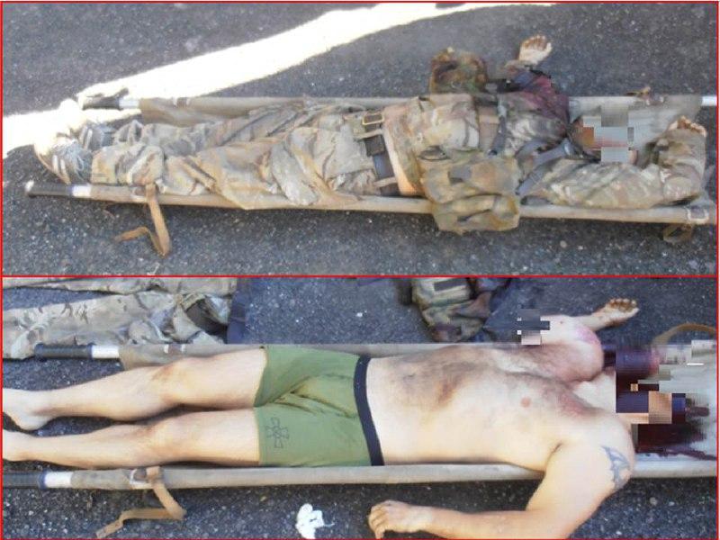 ВСУ сорвали побег своего рядового Украинского в ДНР миномётным огнём (фото 18+)