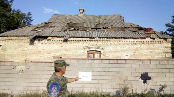 10 расстрелянных домов Старомихайловки