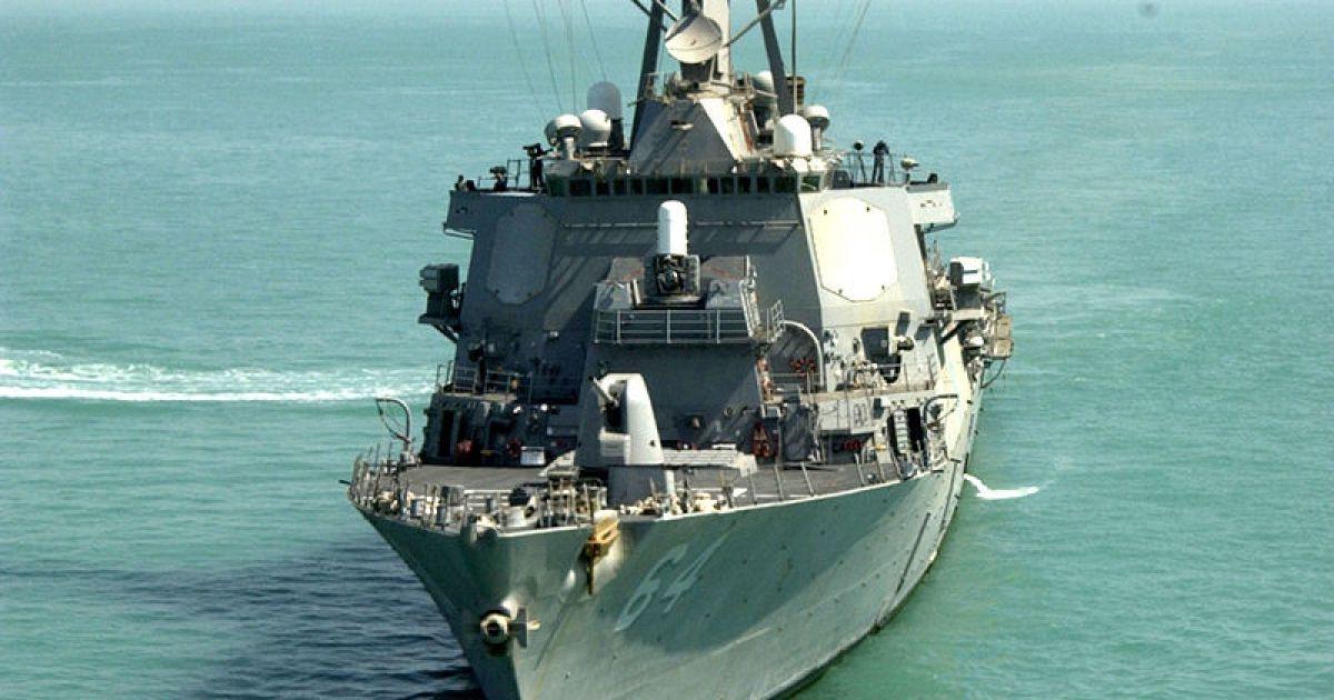 Водным мир. Эсминец Carney доставил группы для удара по Донбассу