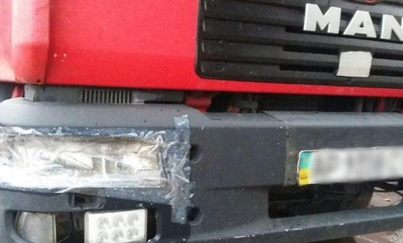 Под Славянском харьковчанин на грузовике атаковал велосипедиста