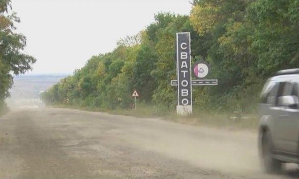 В Донбассе жители блокировали проезд из-за кошмарной трассы