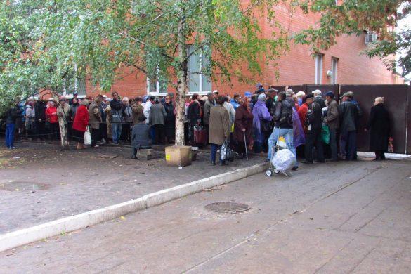 На реконструированном украинском КПВВ — новые проблемы
