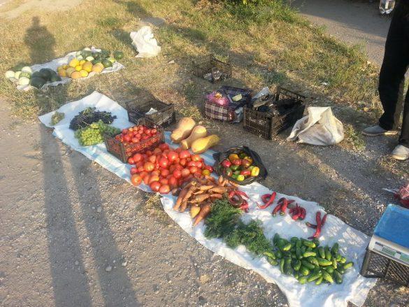 Жители Зайцево вынуждены продавать расстрелянный урожай