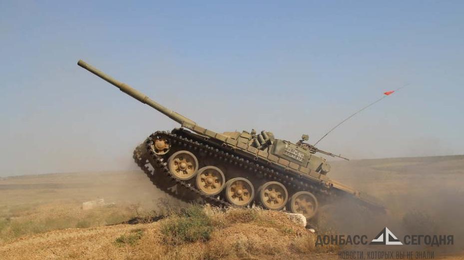 В ЛНР сформируют сборную танкистов