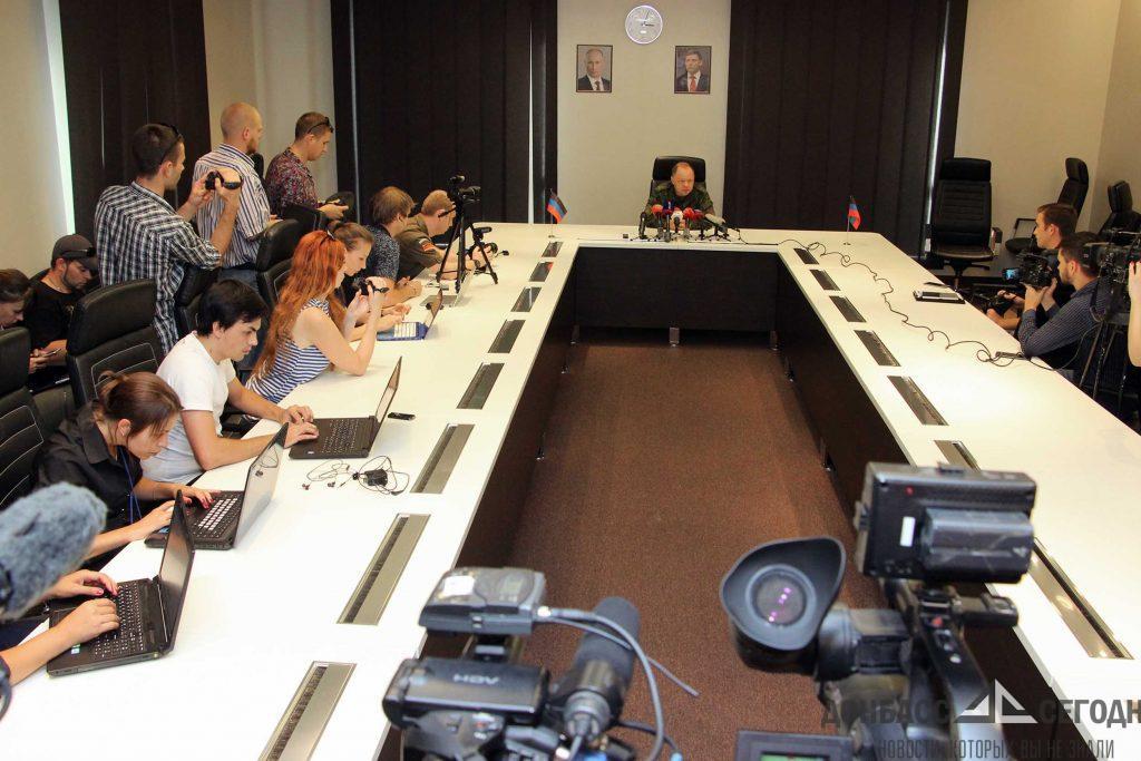 Кононов пояснил, чьи команды будет выполнять НМ ДНР