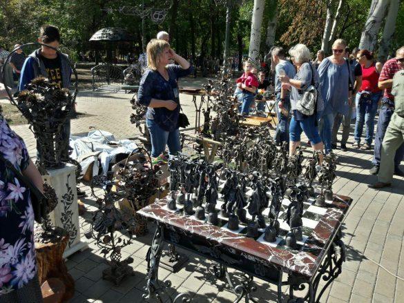 Юбилейный фестиваль кузнечного мастерства в Донецке