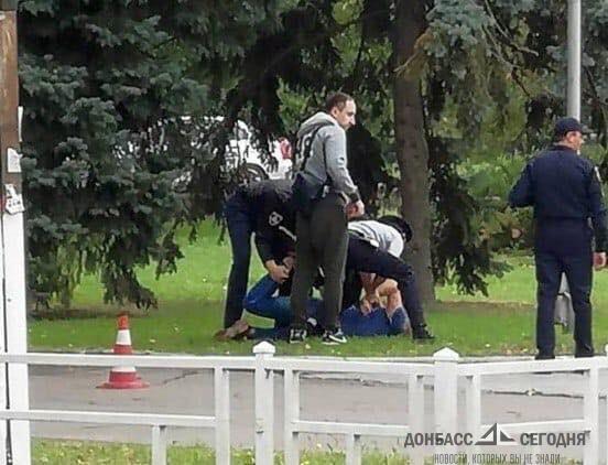 Борец с сепаратистами мастурбировал на детской площадке