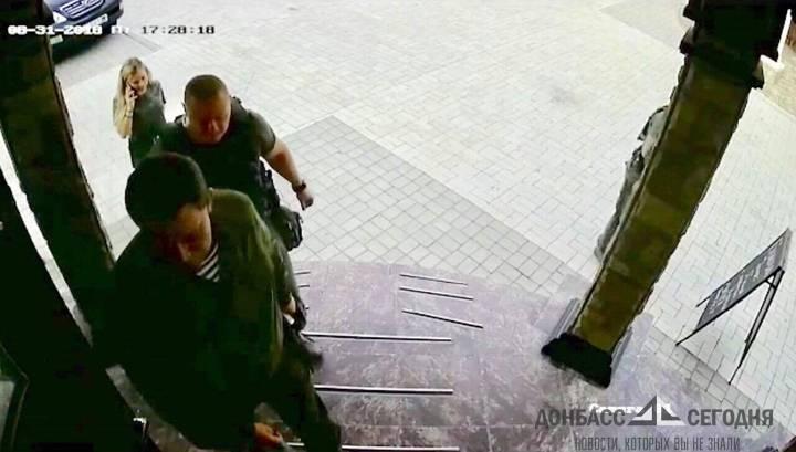 Опубликованы последние кадры перед гибелью Александра Захарченко