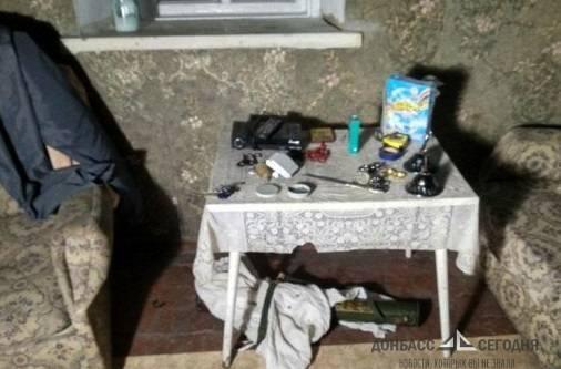 Житель Донбасса сдавал в аренду дом с гранатомётом приятеля под кроватью