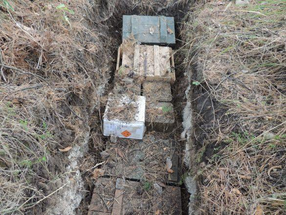 В ЛНР обнаружили огромный тайник с РПГ и ПТУР