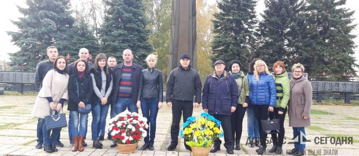 Авдеевка отметила освобождение от нацизма вслед за Красноармейском и Димитровым