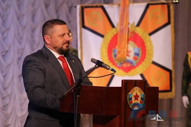 Корнет поздравил военнослужащих ЛНР с четвёртой годовщиной создания Народной Милиции