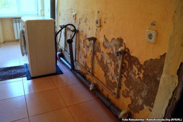 Переселенцы бегут из ледяного общежития в Днепропетровской области