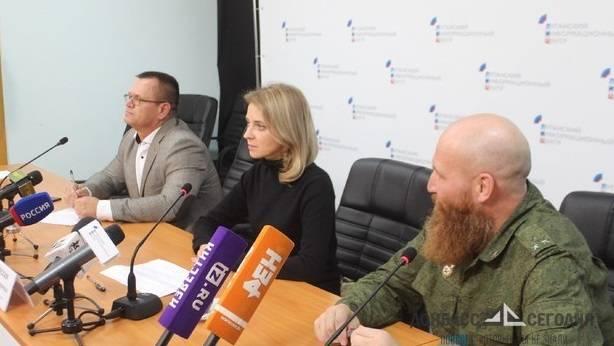 Поклонская снялась в первом полнометражном фильме ЛНР