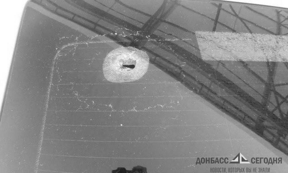 Выстрел снайпера по КПВВ был произведён с крыши дома Марьинки