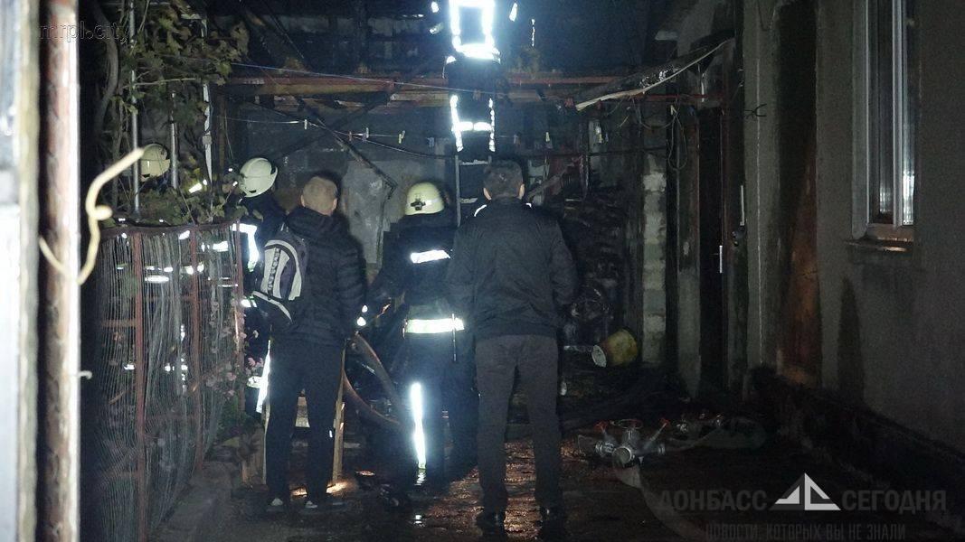 Эпилогом визита Порошенко в Мариуполь стала сгоревшая сауна!