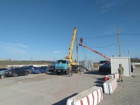 Очередной КПВВ в Донбассе подгоняют под цену острова