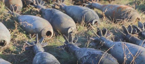 В водоёме под Марьинкой нашли до 40 мин