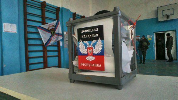 В ДНР досрочно голосуют военнослужащие с передовой