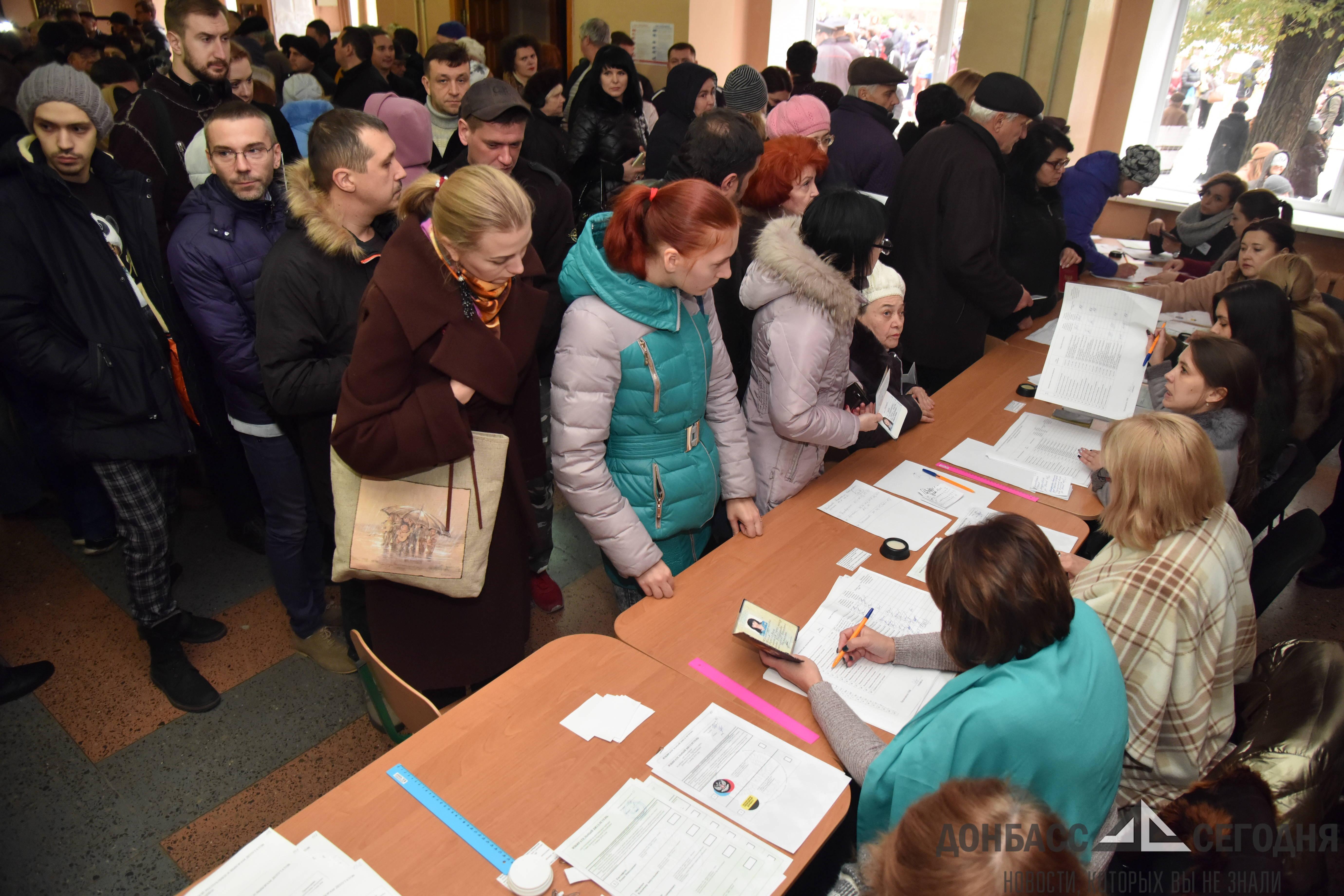 В ДНР обработали более четверти всех бюллетеней, ЦИК озвучила первые результаты