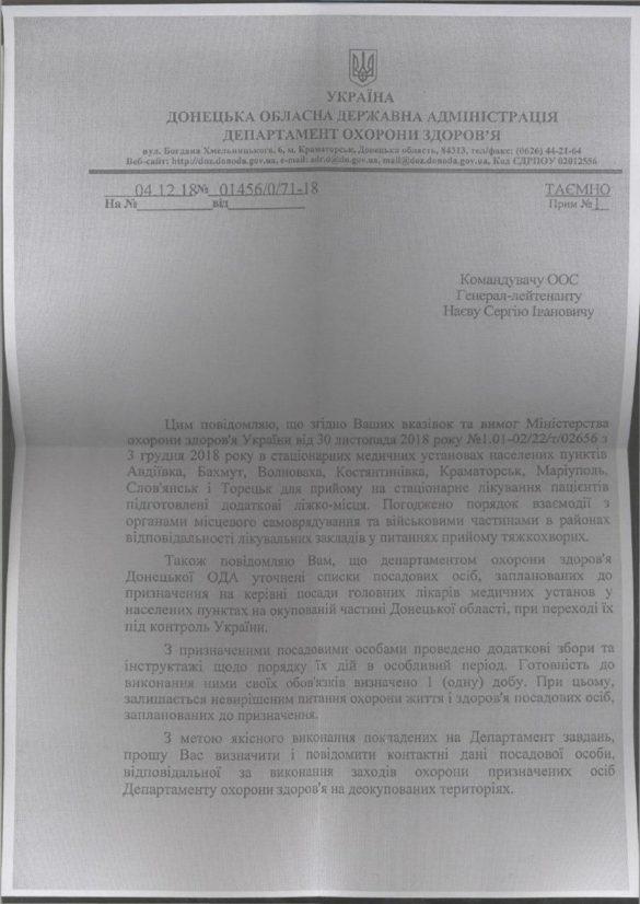 Киев уже назначил своих администраторов на территории Донбасса, которые планирует захватить