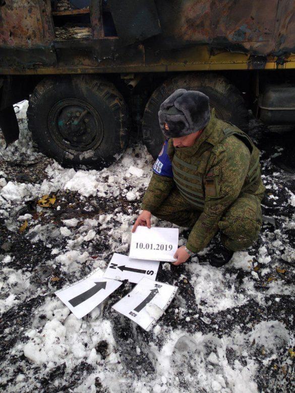 Как было расстреляно авто КП «Вода Донбасса»