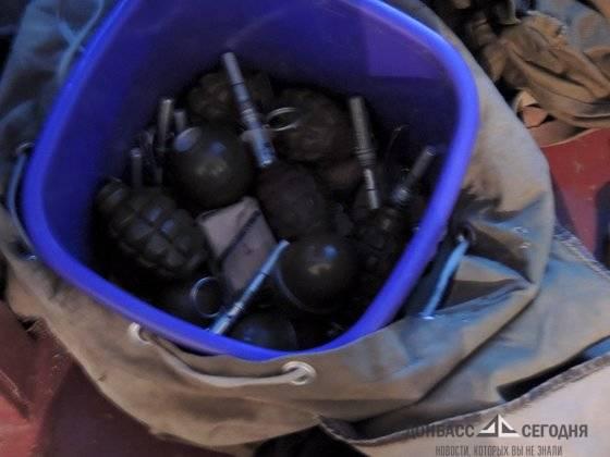 В ЛНР у коллекционера оружия изъяли гигантский арсенал