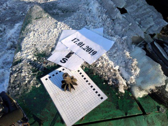 Автомобили возле Васильевской станции расстреляли палачи 93 бригады ВСУ