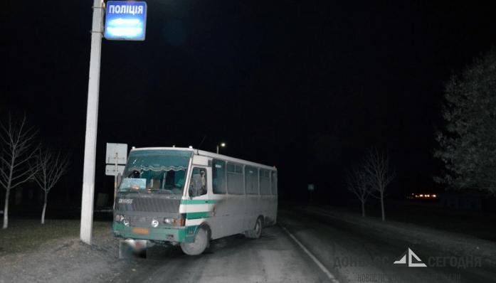 Рейсовый автобус убил пешехода в Димитрове