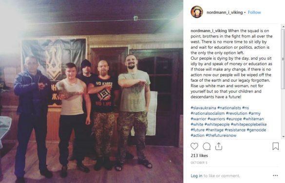 Английские СМИ обвинили американских неонацистов в сотрудничестве с украинским «Азовом»