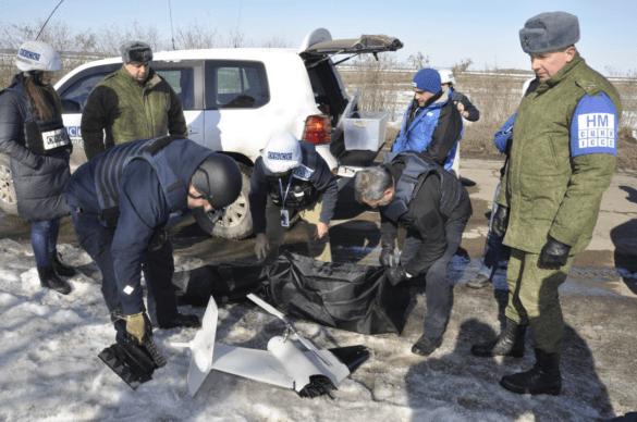 Стали известны подробности крушения БПЛА ОБСЕ в Донбассе