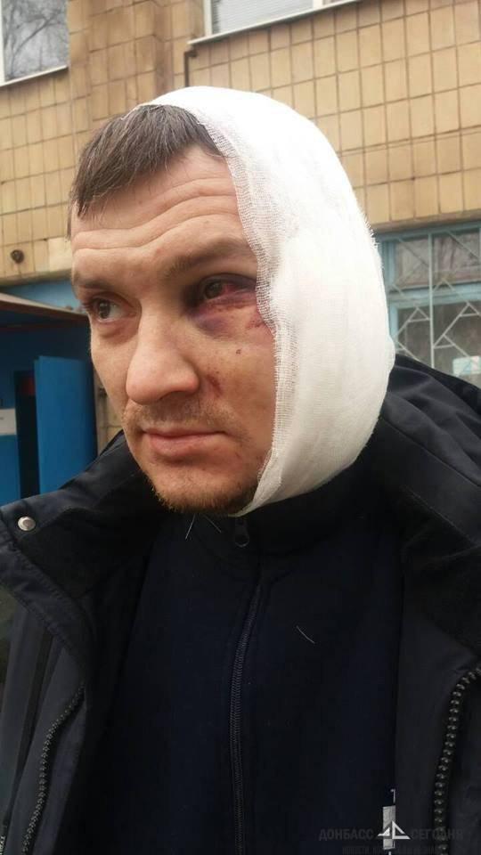 Во время массовой драки солдаты ВСУ избили начальника Ахметова в Мариуполе