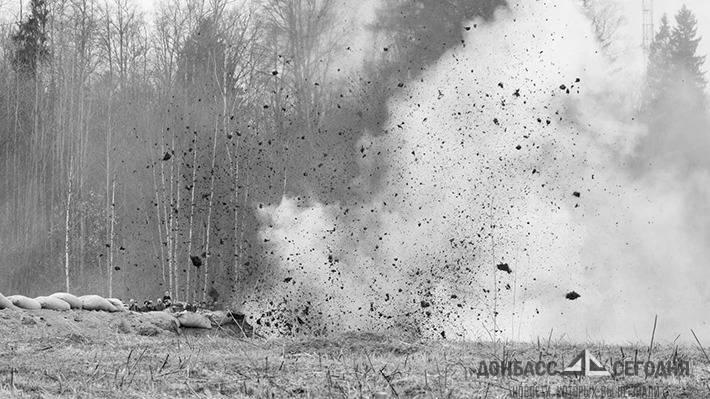 Бойцы ВСУ взорвали свой грузовик со своими сослуживцами