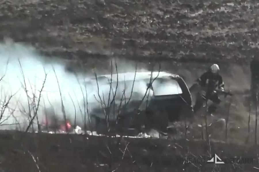 В Красноармейске продолжают сжигать автомобили