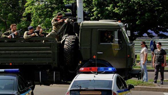 На просёлочных дорогах, ведущих в Донецк, ВСУ расстреливали мирных жителей