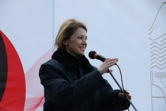 Поклонская приняла участие в высадке «Русской Весны» в ДНР