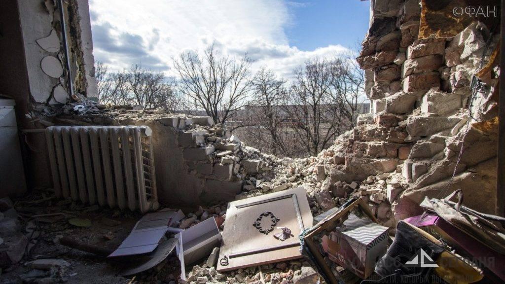 В Горловке украинская авиация одним ударом убила троих детей, мать сошла с ума