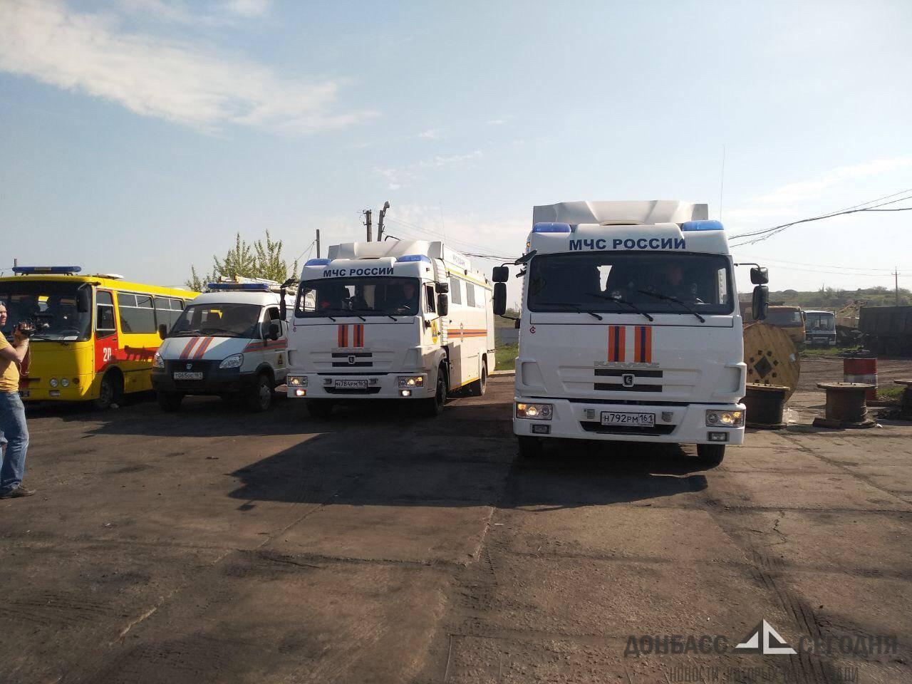 После жуткого ЧП на шахте в ЛНР продолжаются спасательные работы