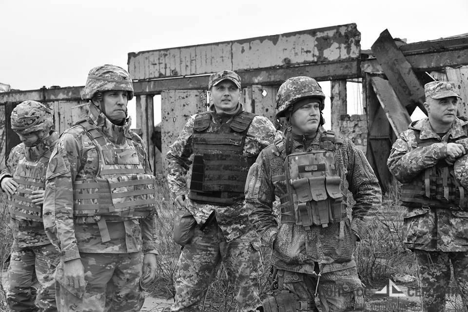 Военным США показали украинскую бригаду палачей на передовой