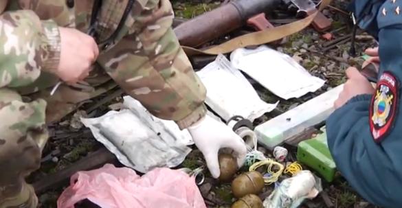 В ЛНР на мясокомбинате нашли гранатомёты и пластид