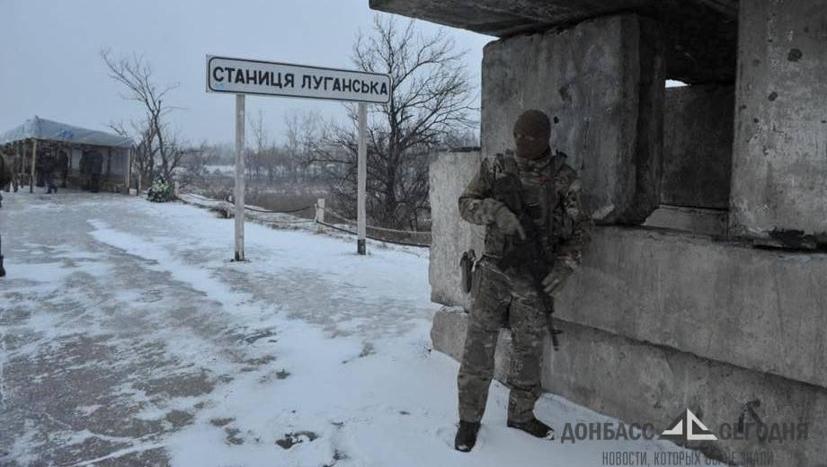 Самое страшное, когда украинский танк наводит дуло на твоих родителей