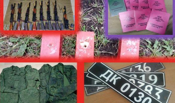 В ДНР показали оружие, одежду и документы захваченных украинских диверсантов