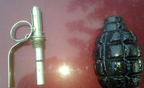 Житель Донбасса продавал гранаты на улицах