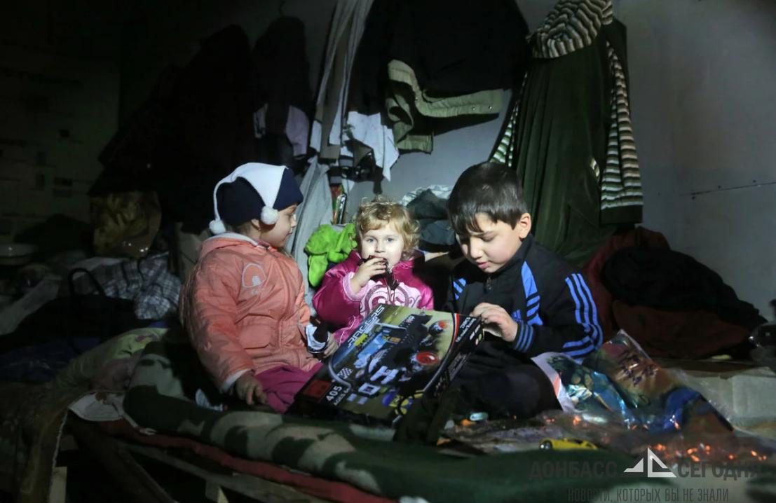 Семья Мозговых рассказала об ужасах в блокадном Дебальцево