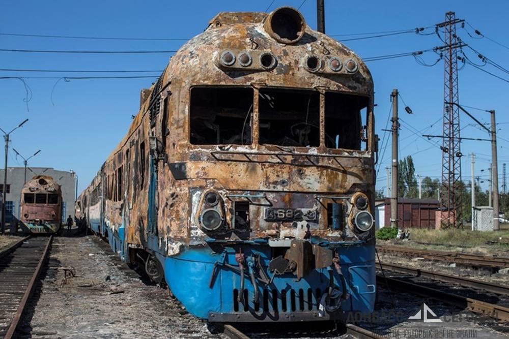 Город горел… Дебальцево перестал быть крупнейшим железнодорожным узлом Донецкой области