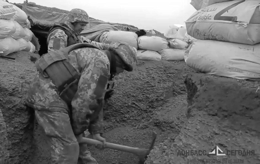 Построившие изолятор для коронавирусных больных бойцы ВСУ разобрали дома жителей Донбасса