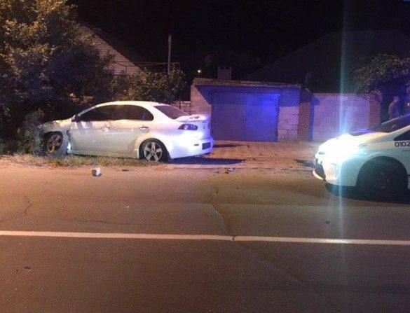 Пьяная автоледи сыграла в прятки с полицейскими в Мариуполе