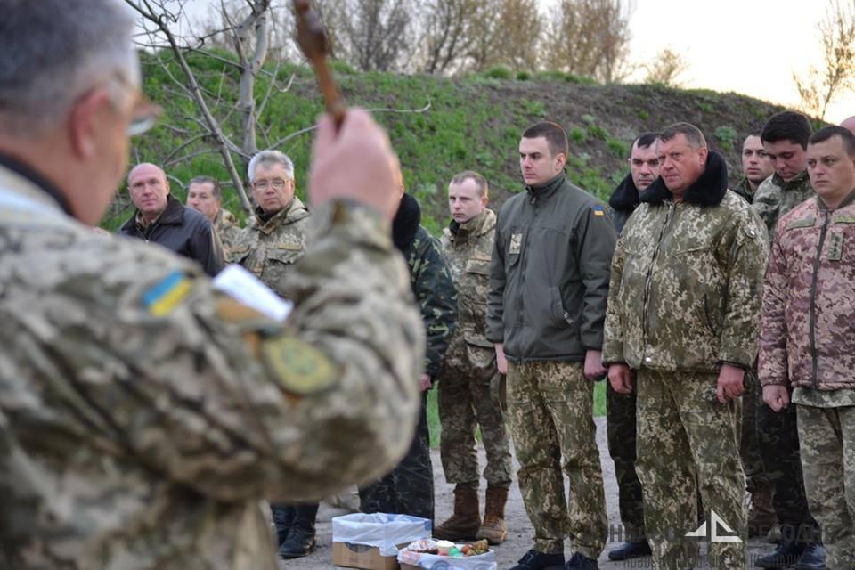На Украине готовят очередную партию боевых неоязычников-капелланов